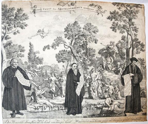 Jubel Feest des Amsteldamschen Schouburgs, 1738