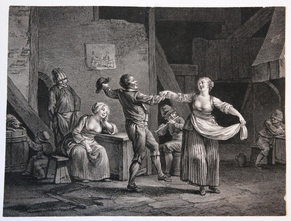 Peasants in an inn (boeren in een herberg).