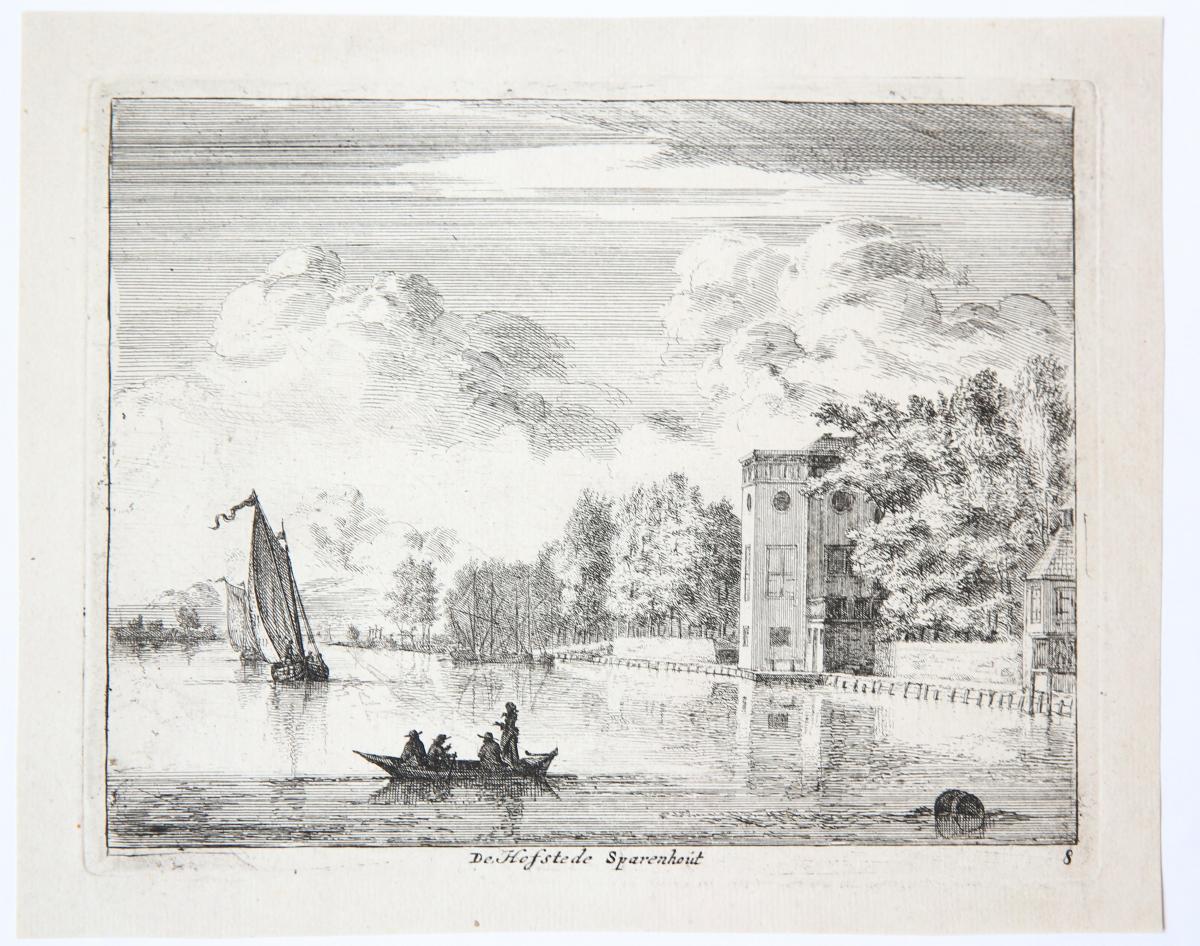 De Hofstede Sparenhout [set: 'Gesiten buyten Haarlem'].