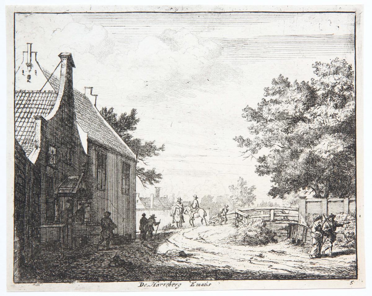 De Harreberg Emaus [set: 'Gesiten buyten Haarlem'].