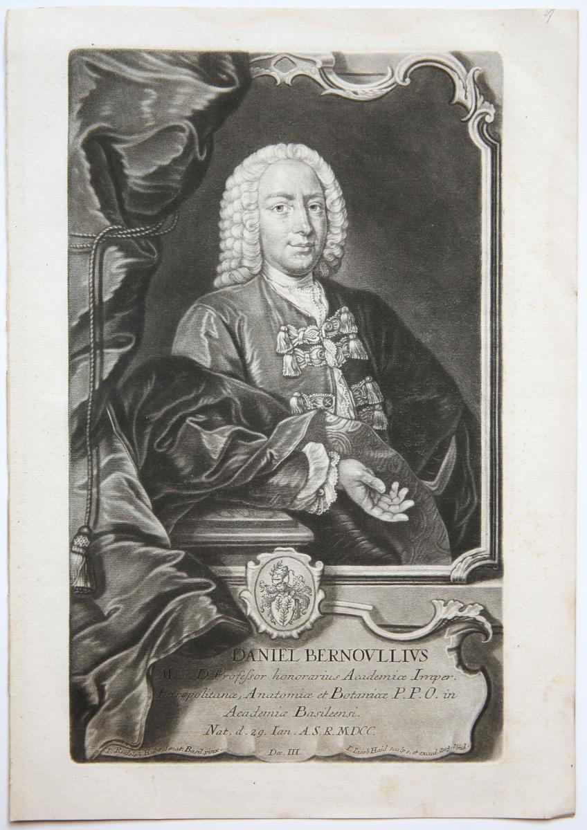 DANIEL BERNOULLIUS.