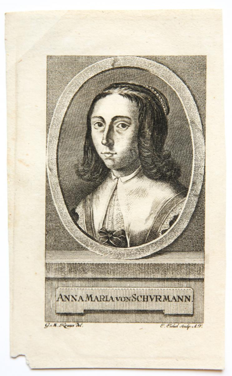 Portrait of Anna Maria van Schurman (Schuurman).