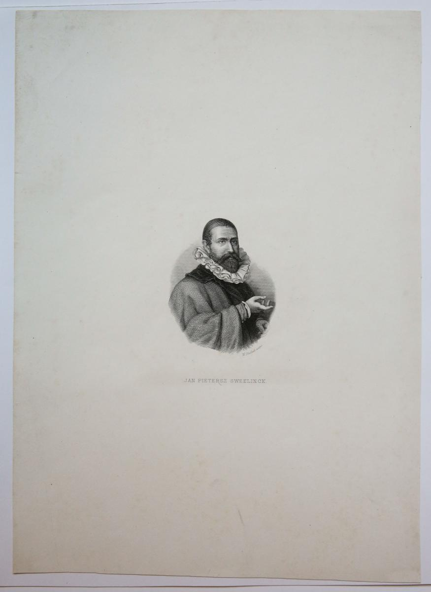 Portrait of Jan P. Sweelinck.