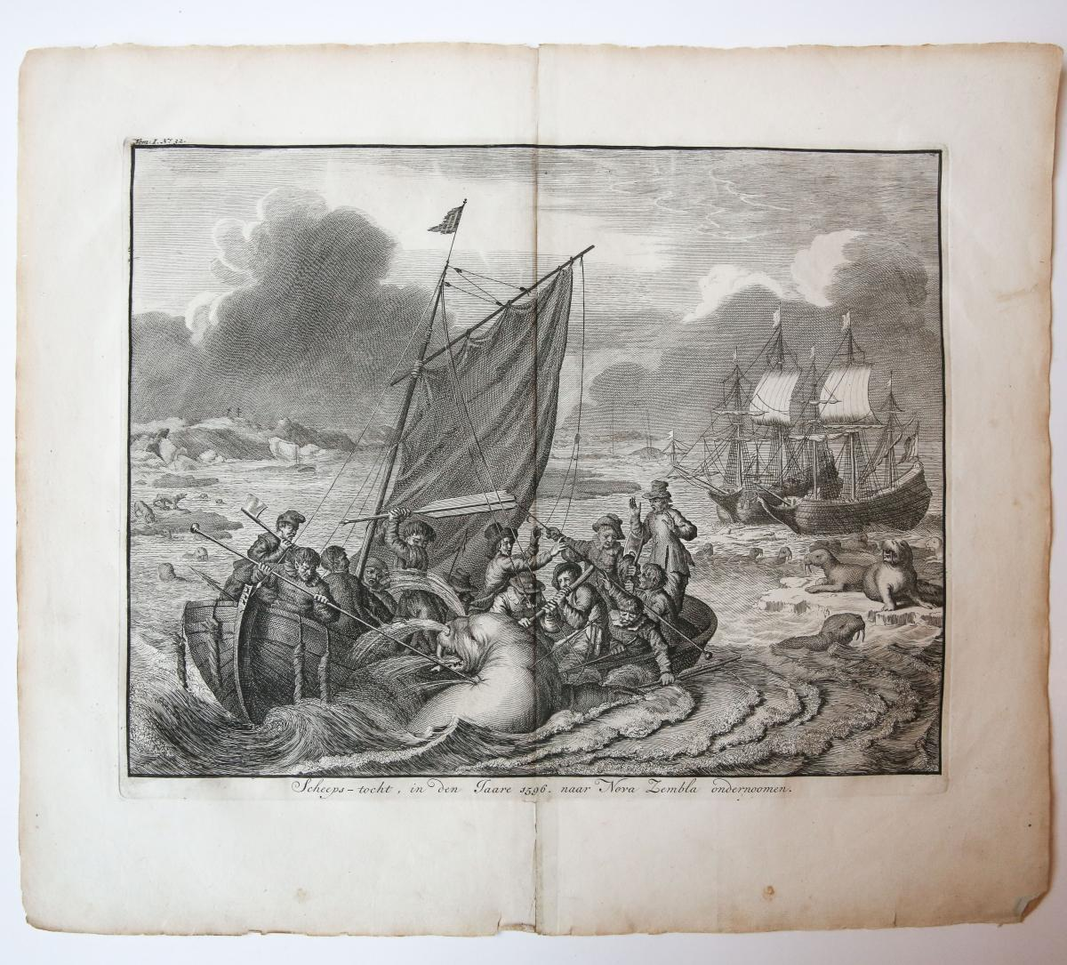 Scheeps-tocht, in den jaare 1596, naar Nova Zembla ondernomen.