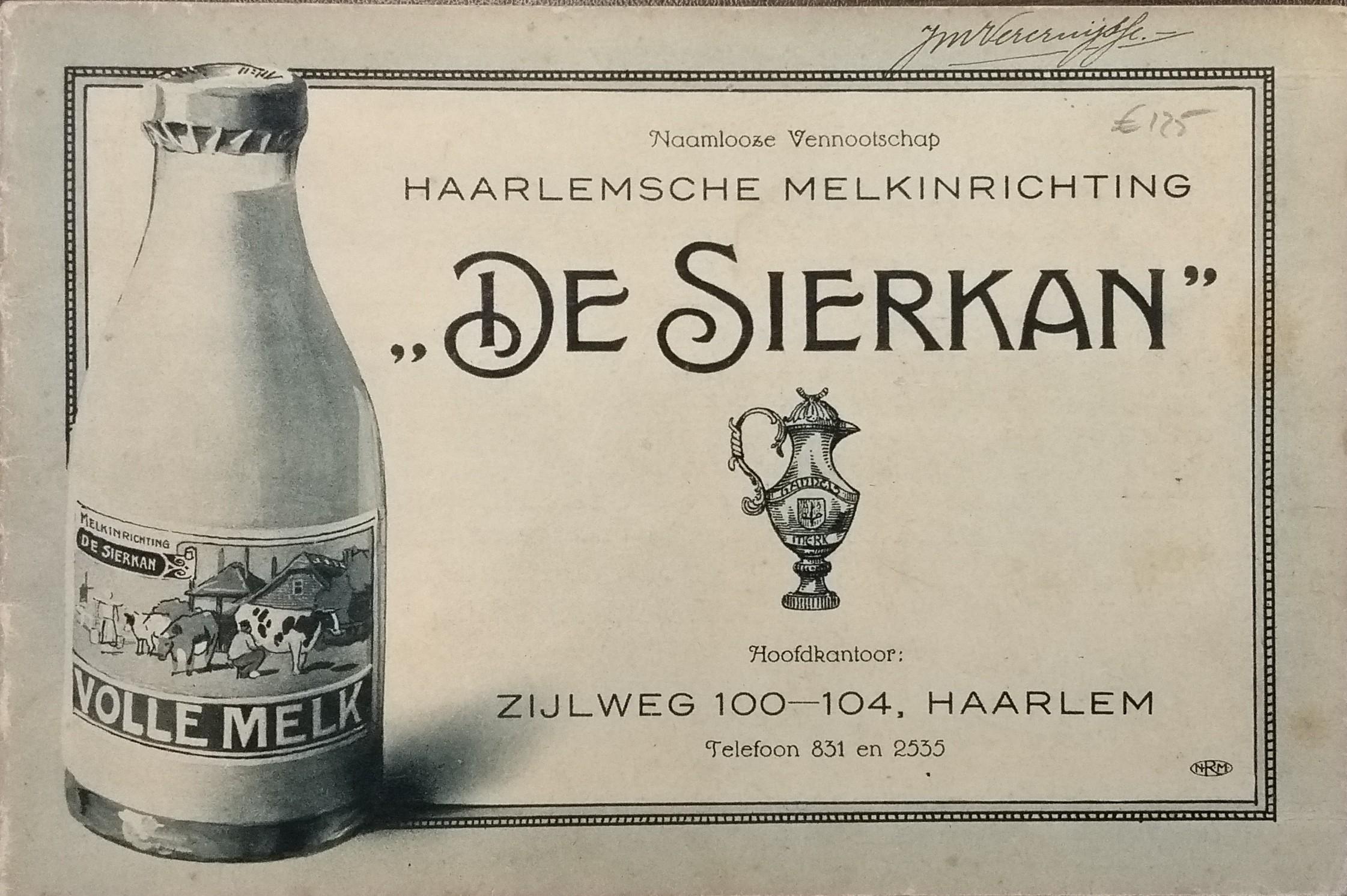 Naamloze Vennootschap Haarlemsche Melkinrichting De Sierkan
