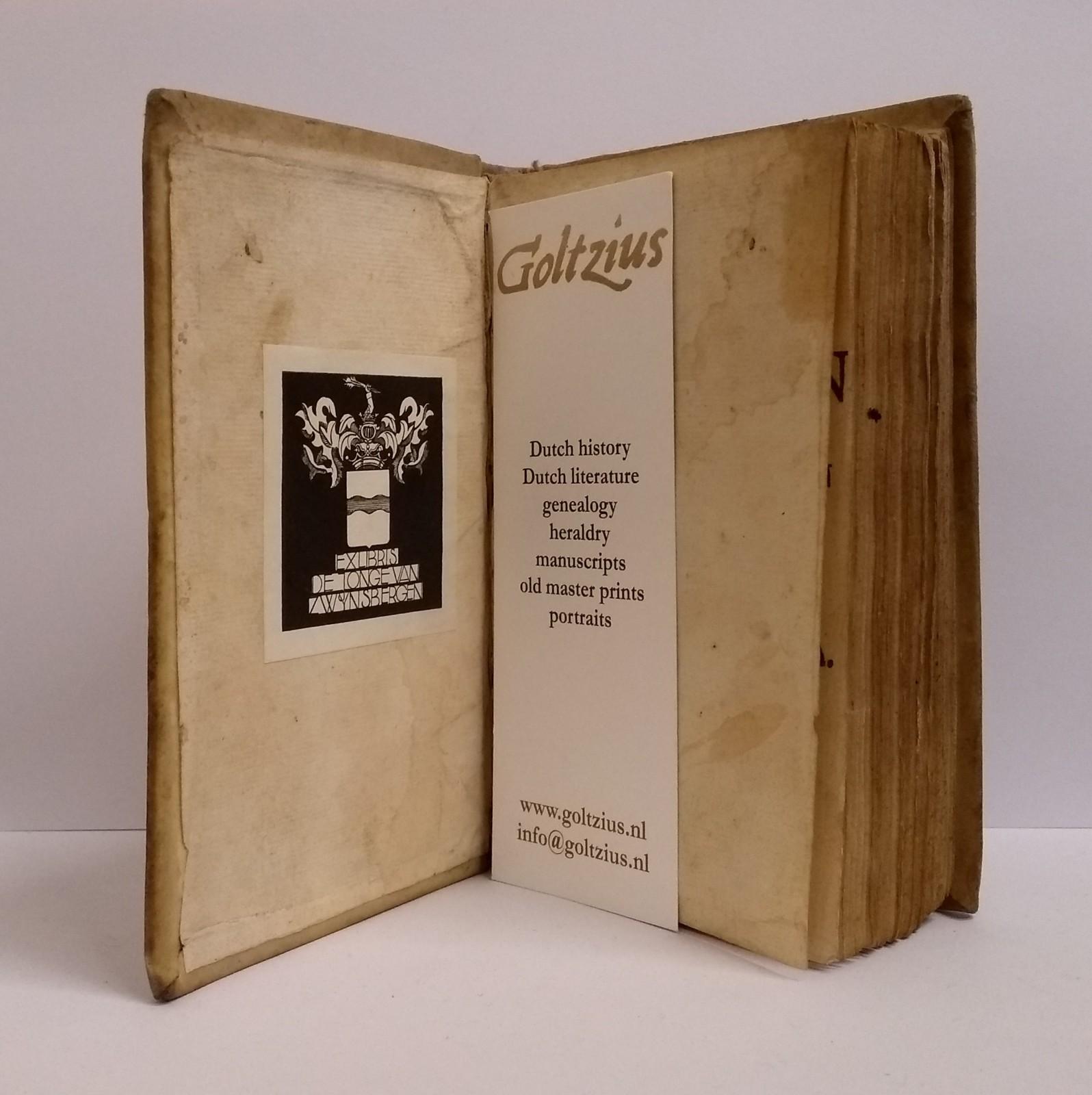Europeesche krygs-roman of heldendaden en liefdesbedryven  der vorsten van Europa. Derde deel.