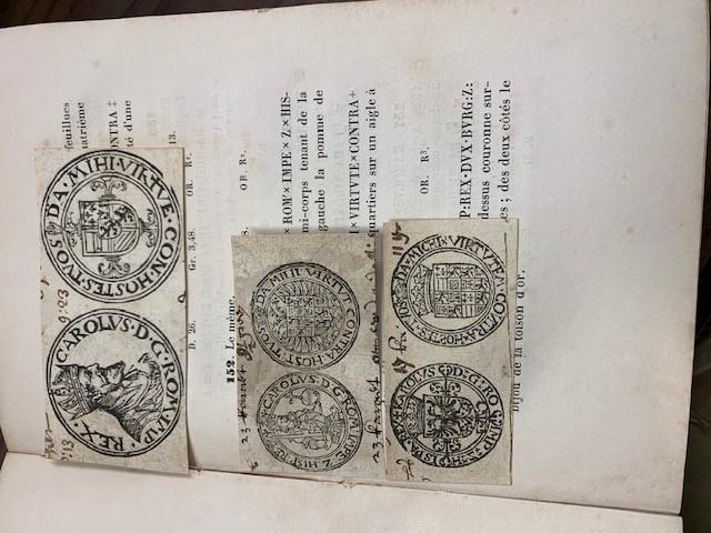SERRURE, C.P, Notice sur le cabinet monétaire de S.A. le Prince de Ligne, d'Amblise et d'Épinoy...