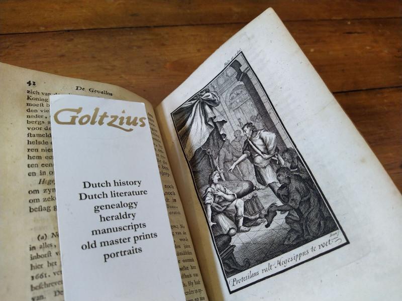 FENELON, FRANCOIS DE SALIGNAC VAN MOTHE, VERBURG, ISAAK (TR.), De Gevallen van Telemachus zoone van Ulysses, Of vervolg van het Vierde Boek der Odyssea van Homerus