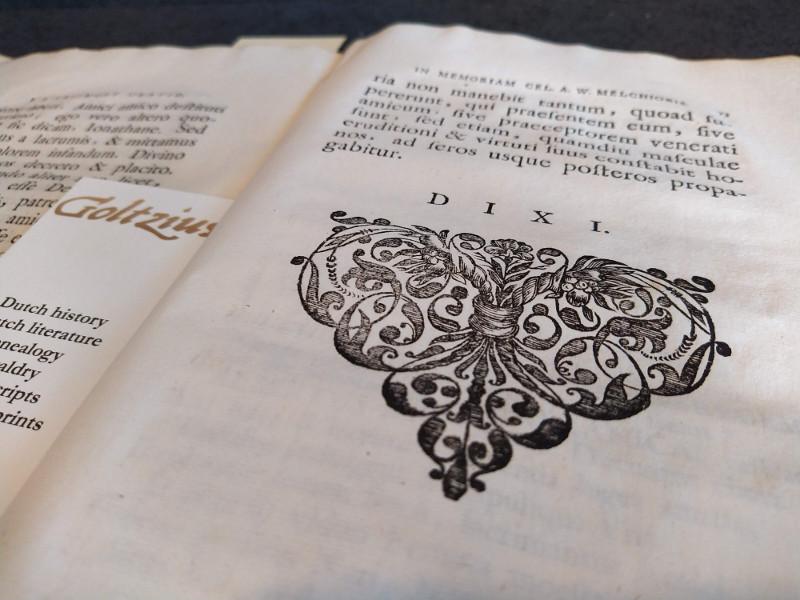 VRIEMOET, EMO LUCIUS, Oratio funebris de vita & meritis (...) Alberti Wilhelmi Melchioris.