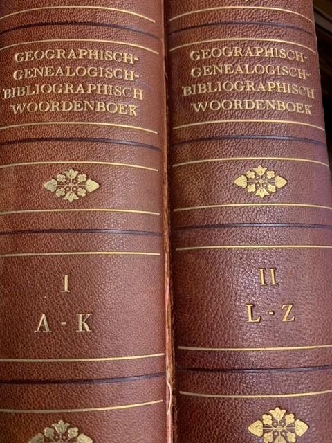 JURRIUS, J., Kramers' geographisch woordenboek der geheele aarde.