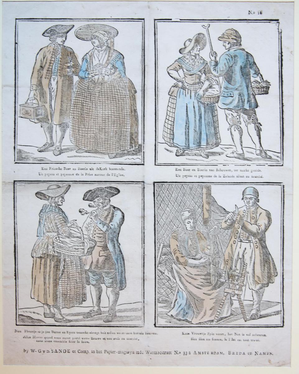 Centsprent: [National costumes, nationale klederdrachten] No 16.