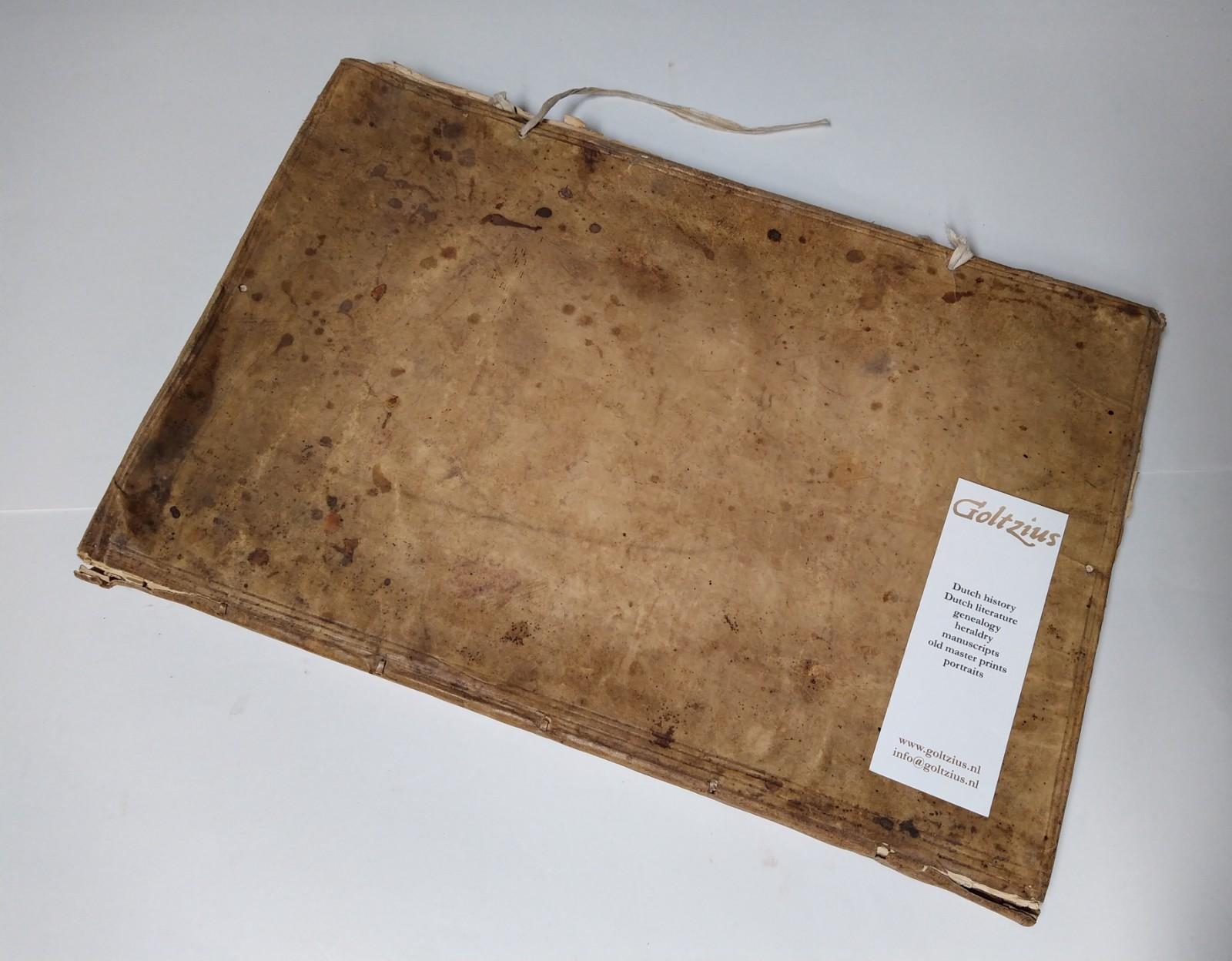 COTRELL, DESPRES, FRANCE Manuscript genealogy of the descendants of Gerard de Lestruuerie (Lyestruues, dec. 1330) and Masrie de la Cauchie.