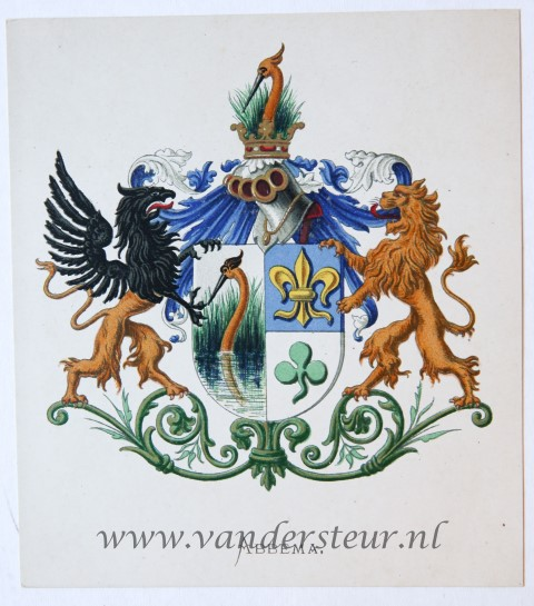 Wapenkaart/Coat of Arms: Abbema