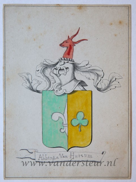 Wapenkaart/Coat of Arms: Abbinga