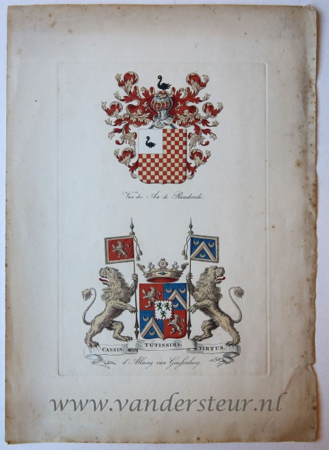 Wapenkaart/Coat of Arms: Ablaing (d')
