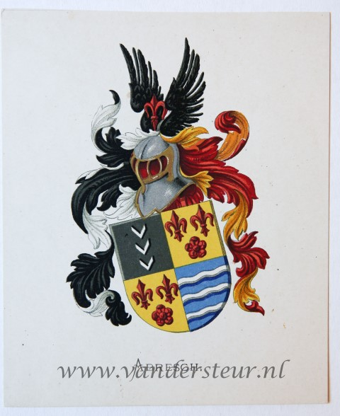 Wapenkaart/Coat of Arms: Abresch