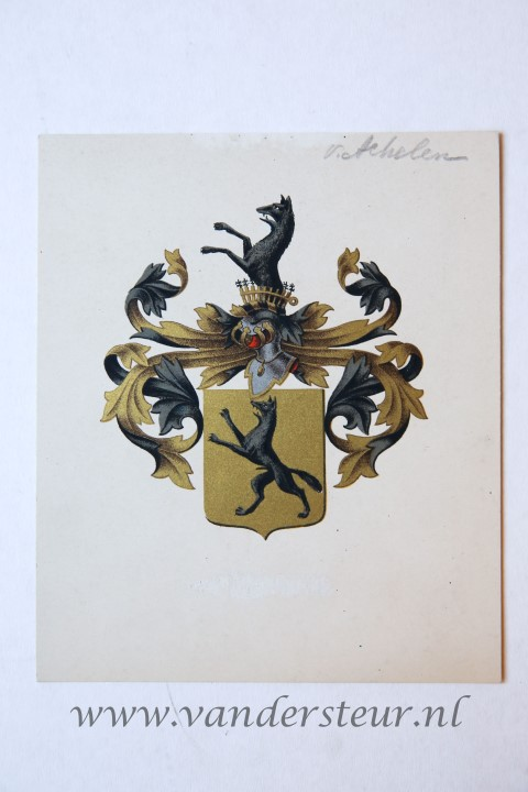 Wapenkaart/Coat of Arms: Achelen (Van)