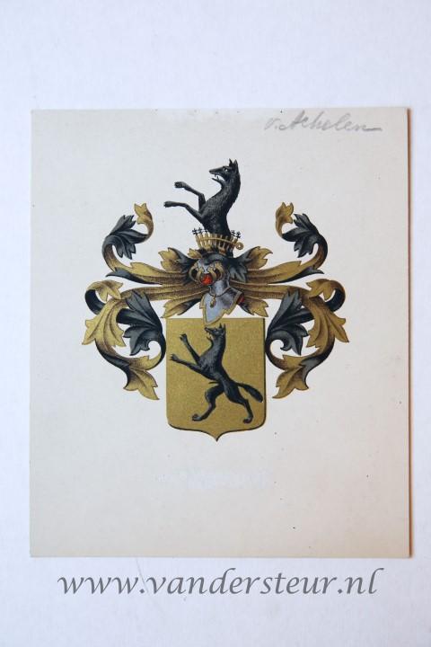 Wapenkaart/Coat of Arms: Achelen (Van)