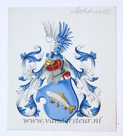 Wapenkaart/Coat of Arms: Achtevelt
