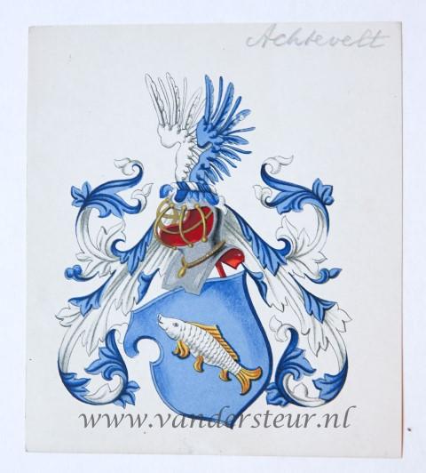 Wapenkaart/Coat of Arms: Achtevelt