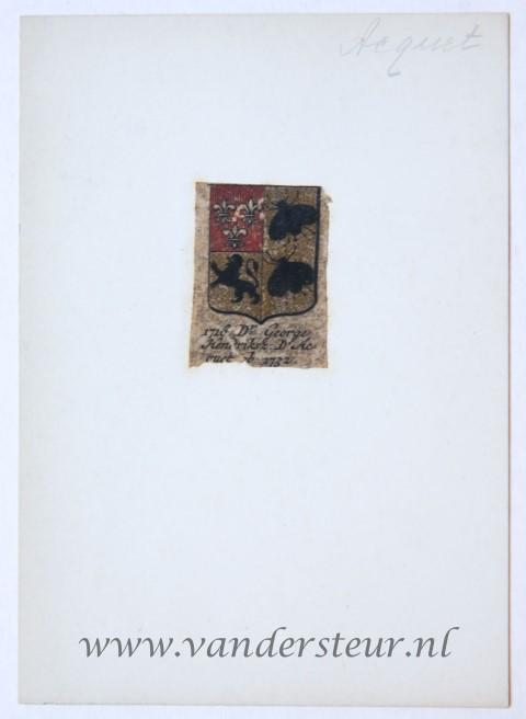 Wapenkaart/Coat of Arms: Acquet