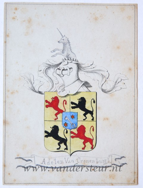 Wapenkaart/Coat of Arms: Adelen (Oud)