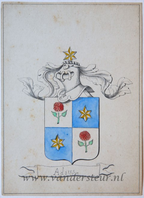 Wapenkaart/Coat of Arms: Adius