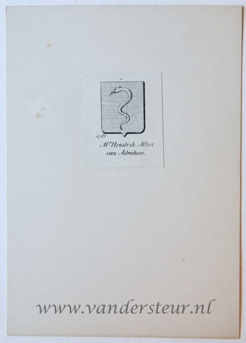 Wapenkaart/Coat of Arms: Adrichem (Van)