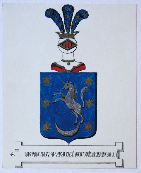 Wapenkaart/Coat of Arms: Aebinga van Humalda