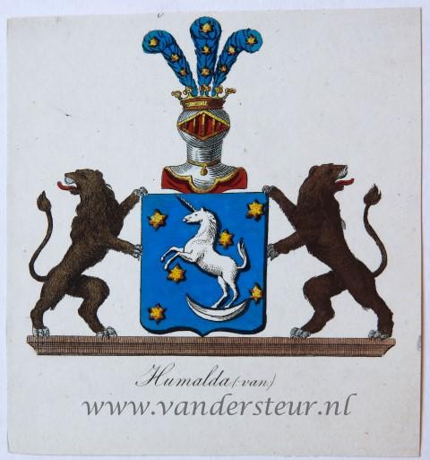 Wapenkaart/Coat of Arms: Humalda