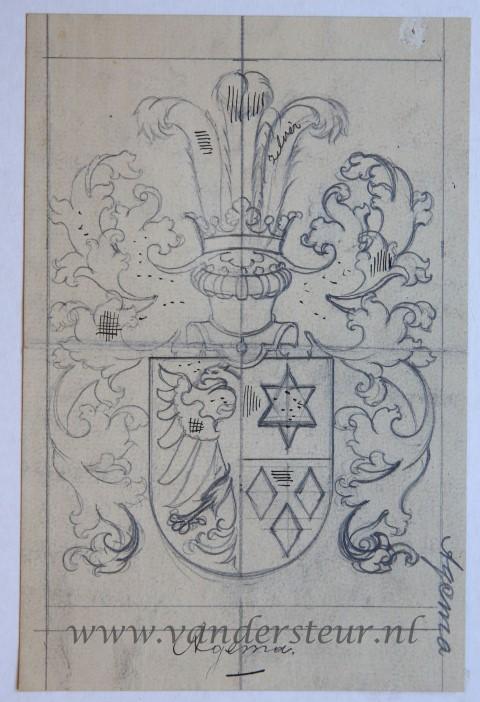Ontwerp Wapenkaart/Coat of Arms: Agema