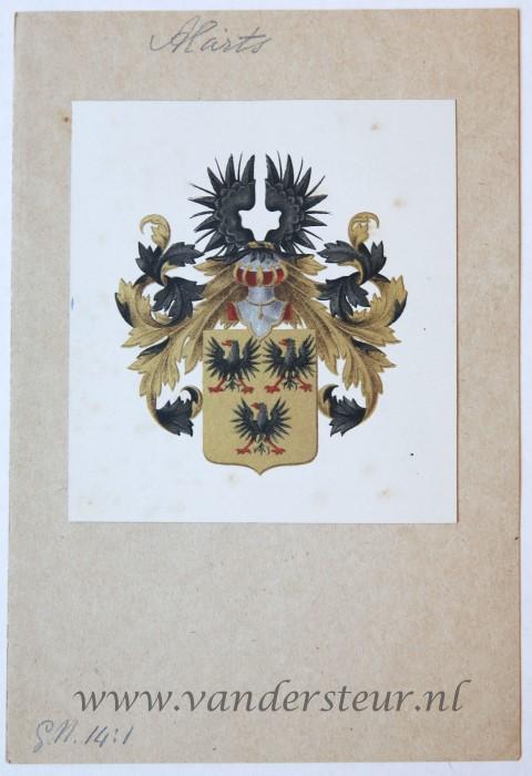 Wapenkaart/Coat of Arms: Alarts