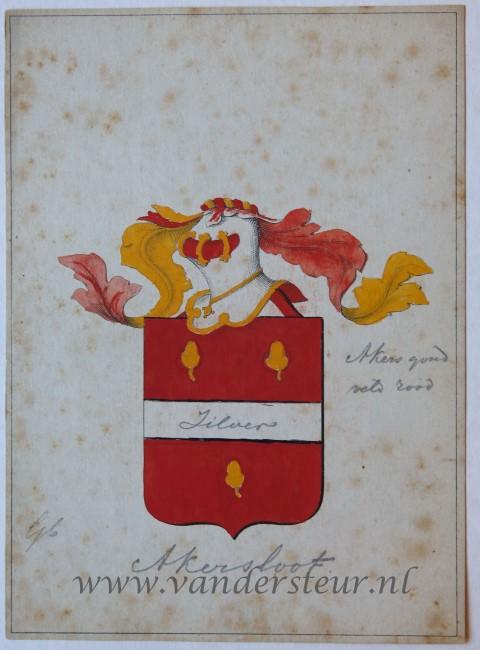 Wapenkaart/Coat of Arms: Akkersloot