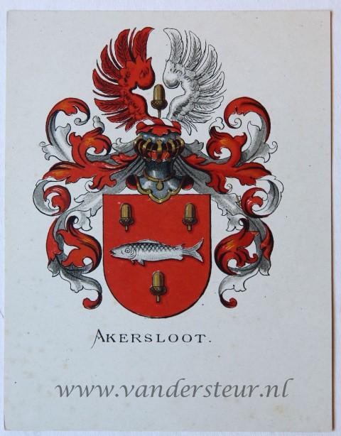 Wapenkaart/Coat of Arms: Akersloot