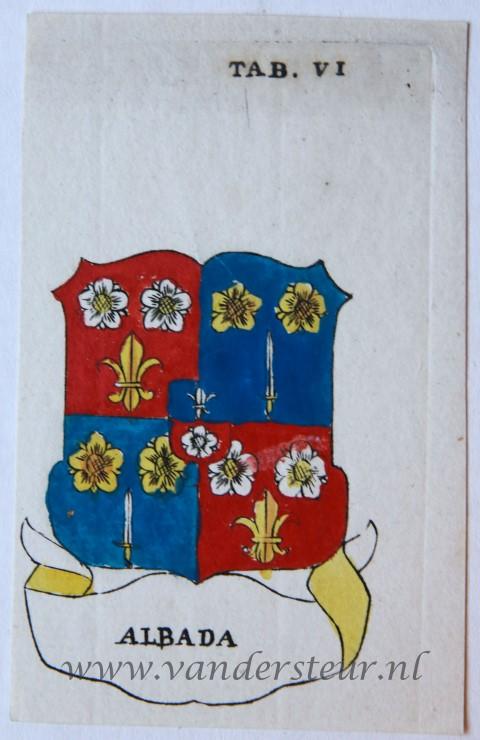 Wapenkaart/Coat of Arms: Albada