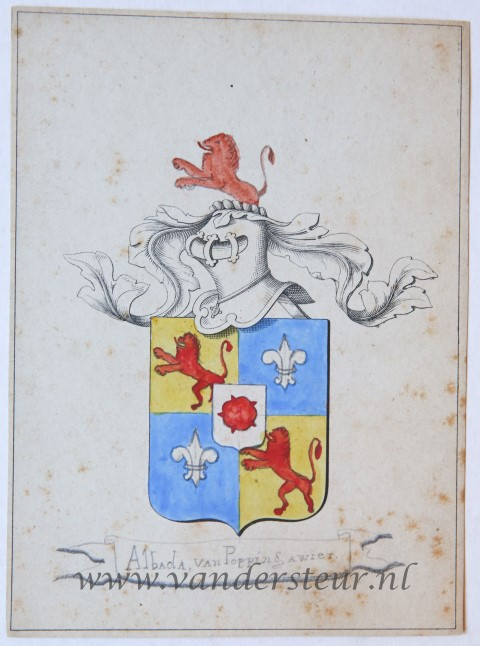 Wapenkaart/Coat of Arms: Albada