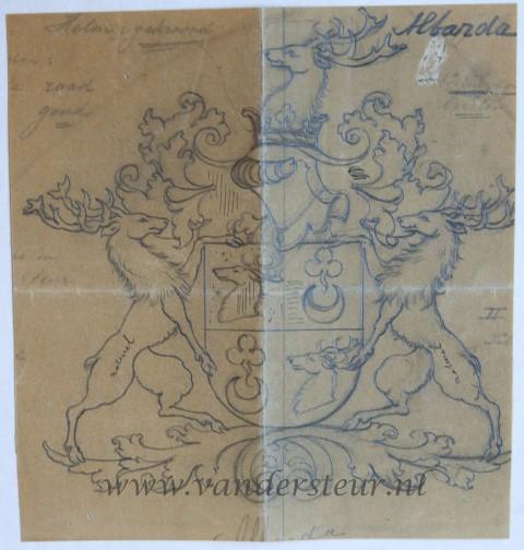 Wapenkaart/Coat of Arms: Albarda