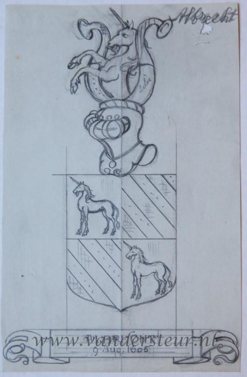 Ontwerp Wapenkaart/Coat of Arms: Albrecht