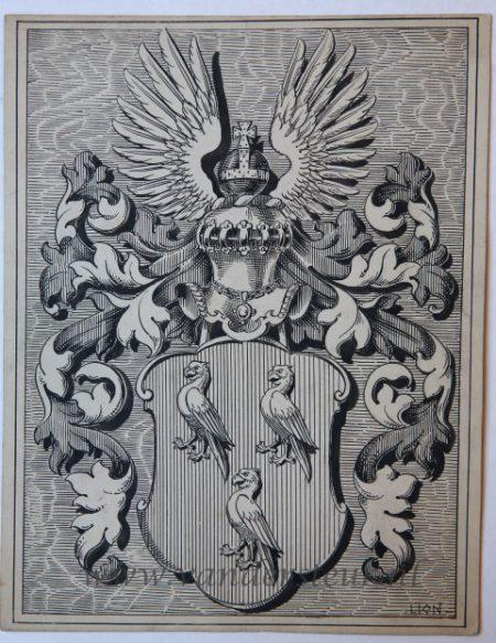 Wapenkaart/Coat of Arms Alderwerelt (Van)