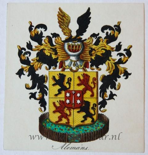 Wapenkaart/Coat of Arms: Alemans