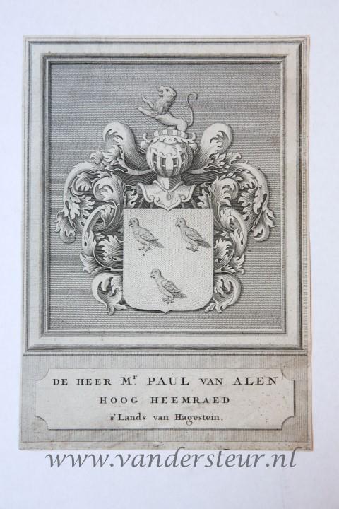 Wapenkaart/Coat of Arms: Alen (Van)