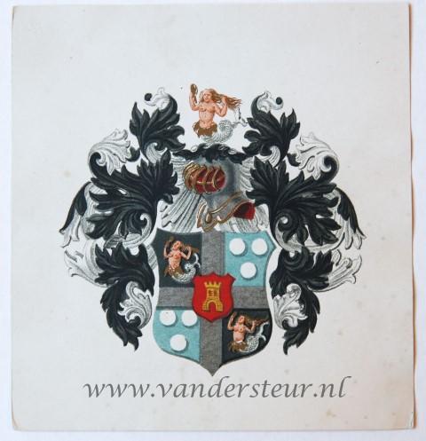 Wapenkaart/Coat of Arms: Alewijn