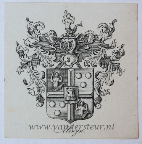 Wapenkaart/Coat of Arms: Alewijn