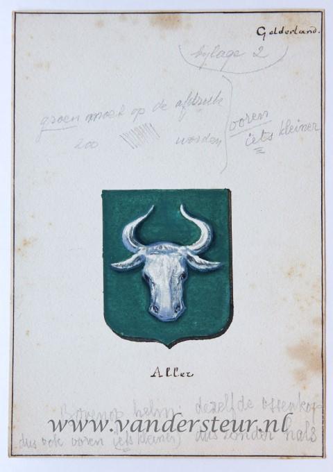 Wapenkaart/Coat of Arms: Aller