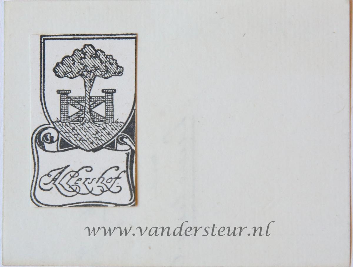 Wapenkaart/Coat of Arms: Allershof