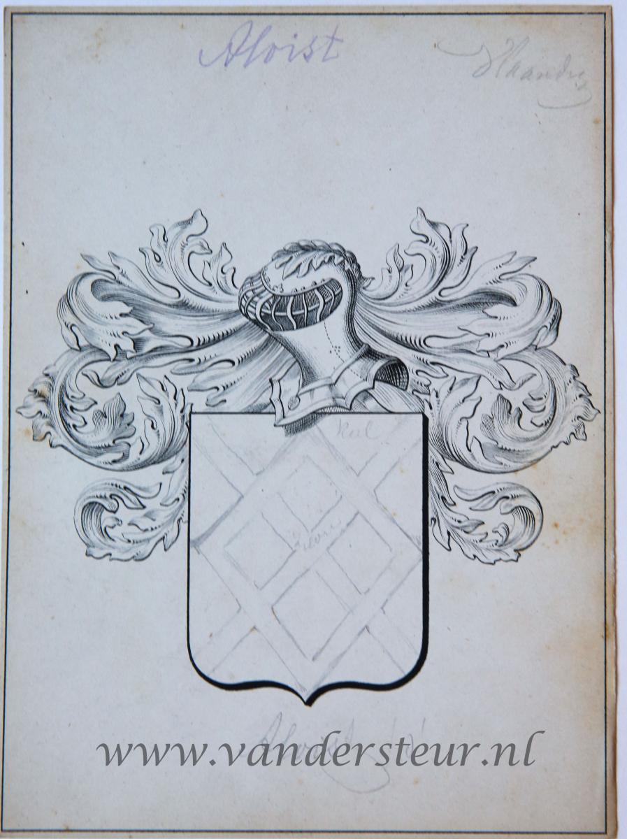 Wapenkaart/Coat of Arms: Aloist