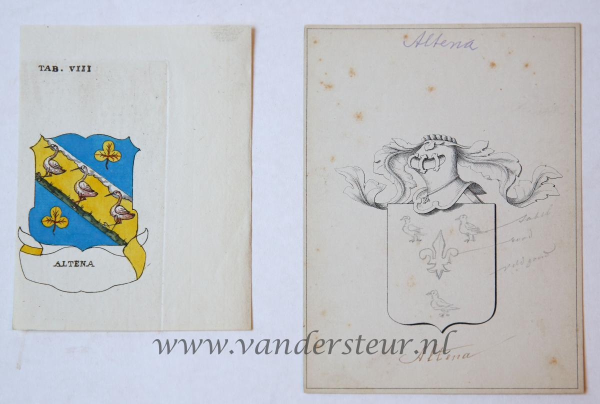 Wapenkaart/Coat of Arms: Altena