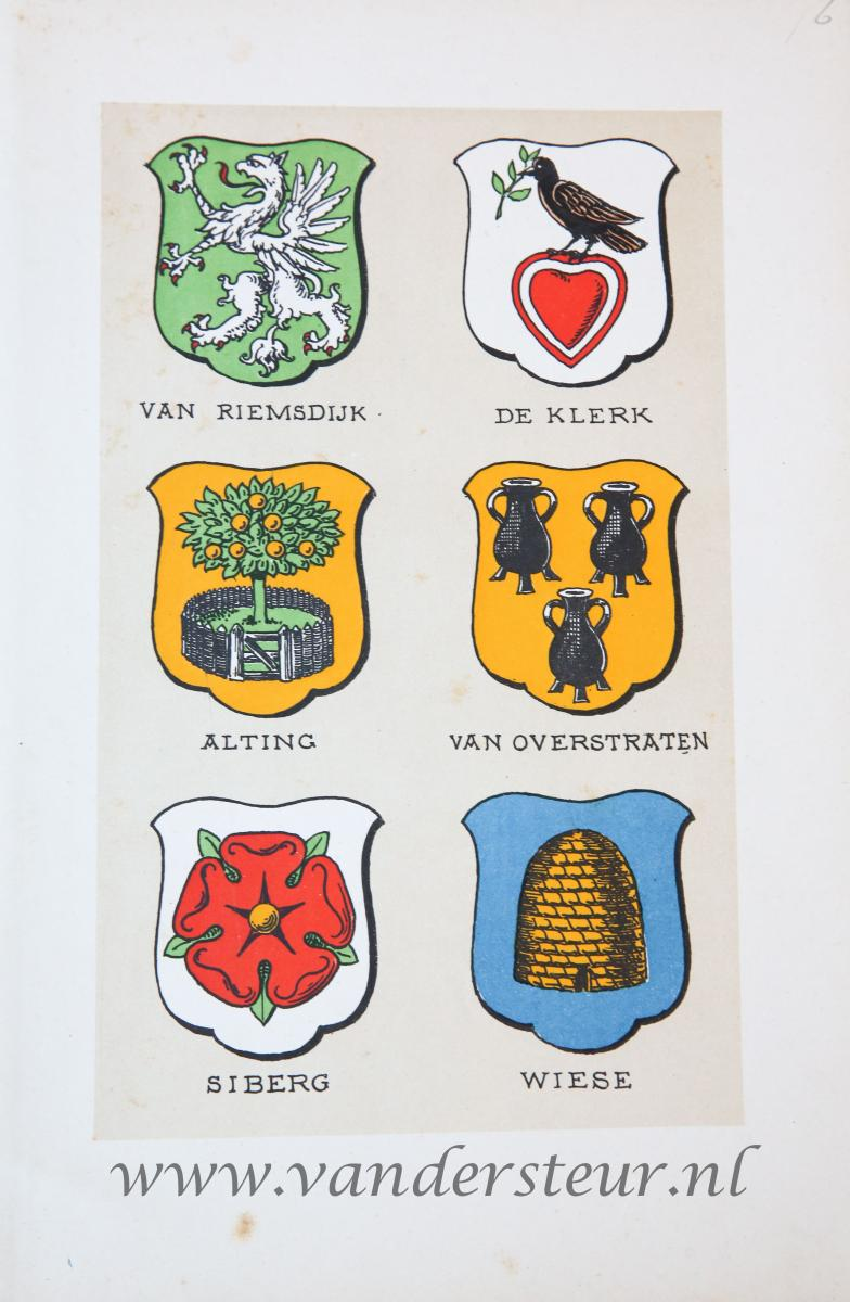 Wapenkaart/Coat of Arms: Alting