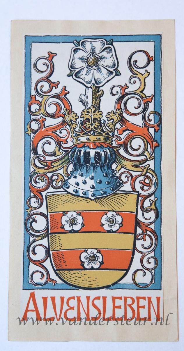 Wapenkaart/Coat of Arms: Alvensleben