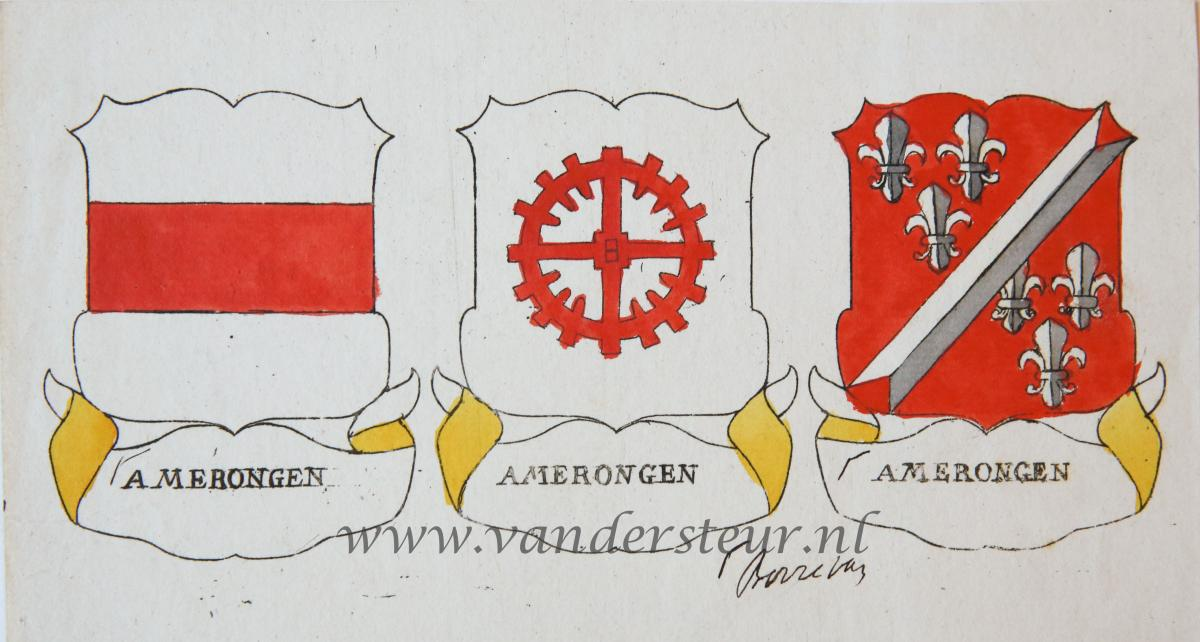 Wapenkaart/Coat of Arms: Amerongen